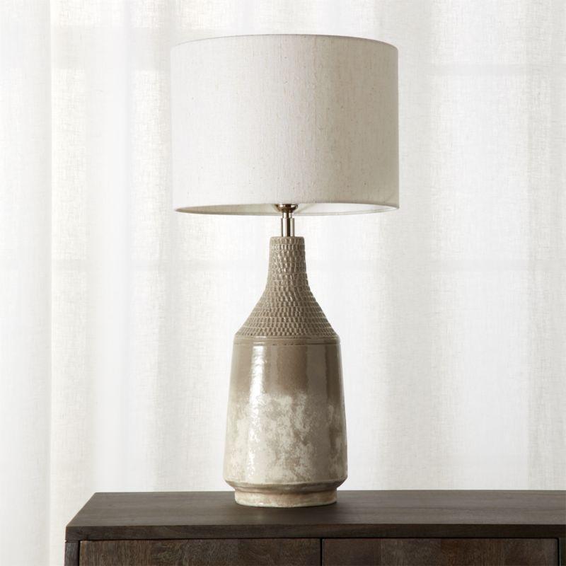 table lamps miya table lamp | cb2 TEWZRUZ