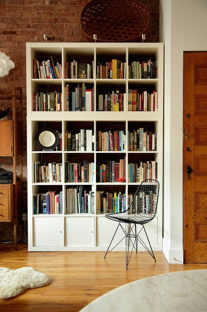 tall bookshelves 15 super smart ways to use the ikea kallax bookcase OFIDCSQ