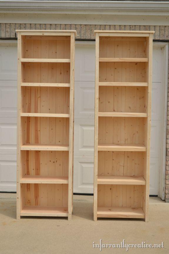 tall bookshelves how to make bookshelves ACQFFQR