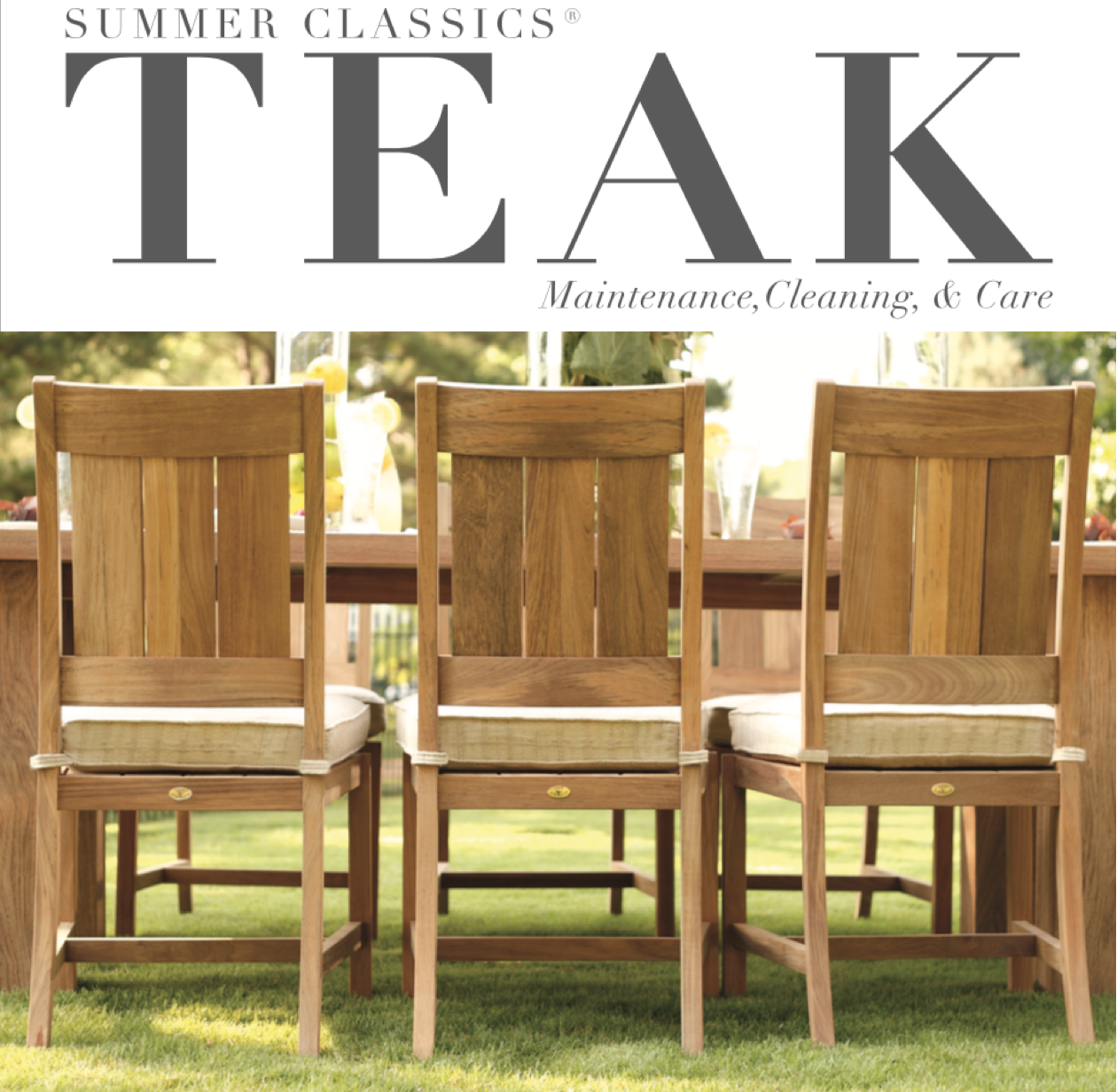 teak furniture summer classics teak is made of the highest quality slow growth plantation WYLAPOP