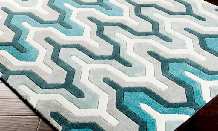 teal rugs product image SLFBFGO
