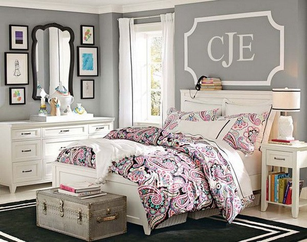 teenage girls bedrooms airy and girly bedroom design that is perfect for teen girls. simple but RGLJAAI