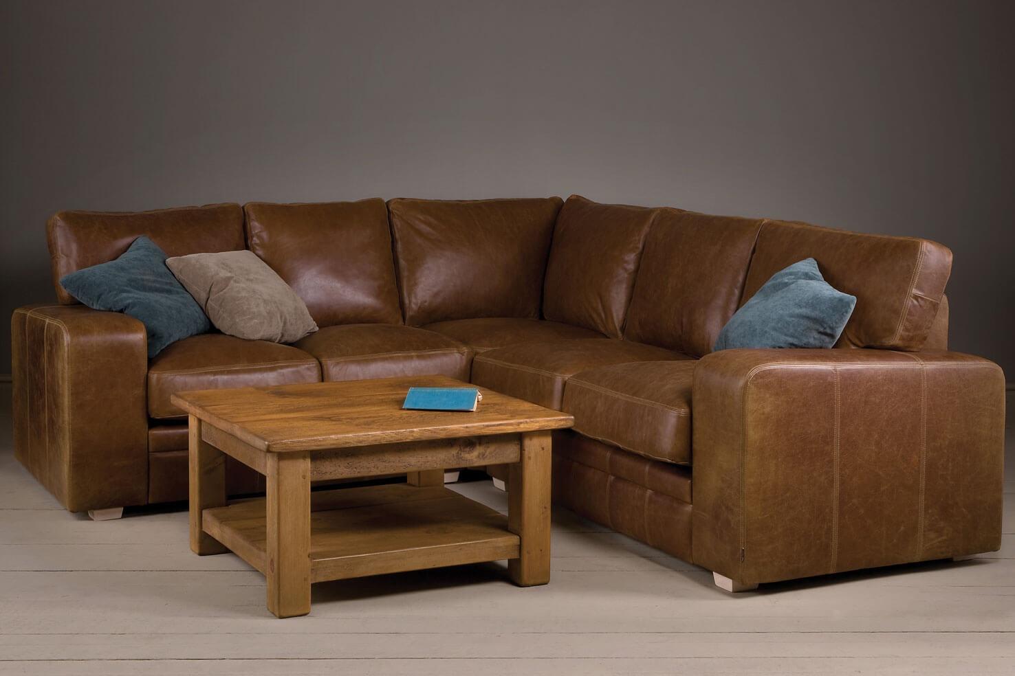 the broad arm leather corner sofa SHCUPQM