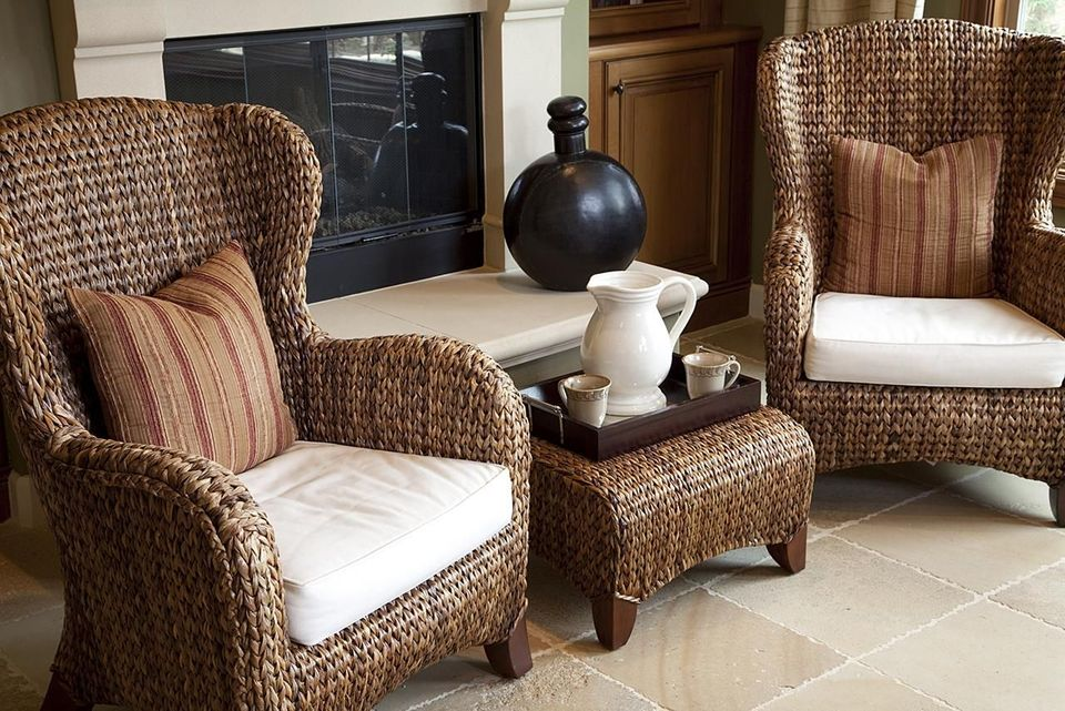 the classic look of wicker furniture HSWESMX