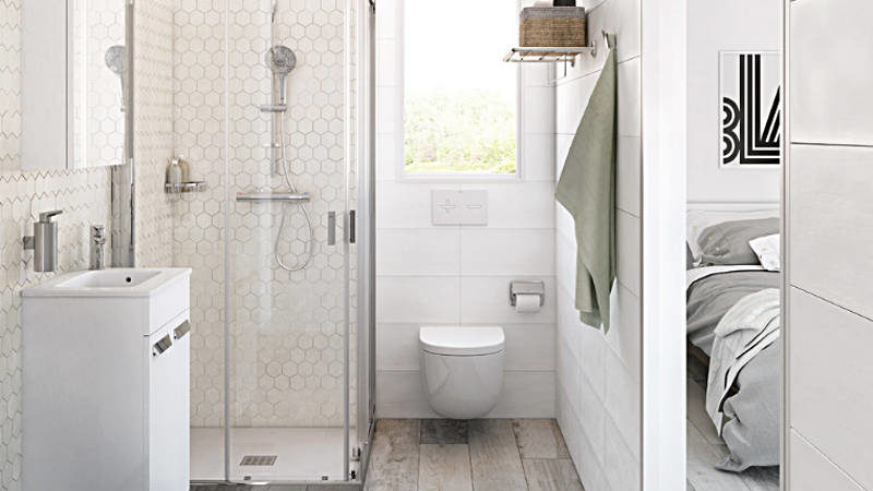 thereu0027s a small bathroom design revolution and youu0027ll love these  rule-breaking QQBFDUB