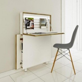 think thin: slim desks for small spaces YJPKECD