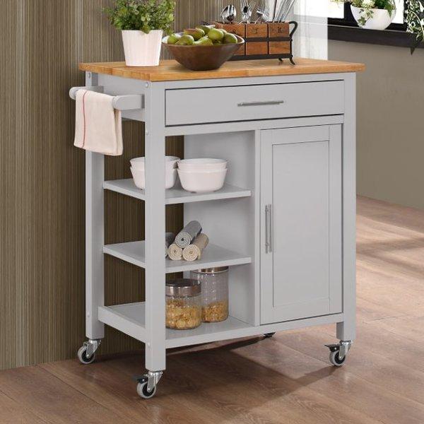 three posts newfane kitchen cart u0026 reviews | wayfair SLMKQFK