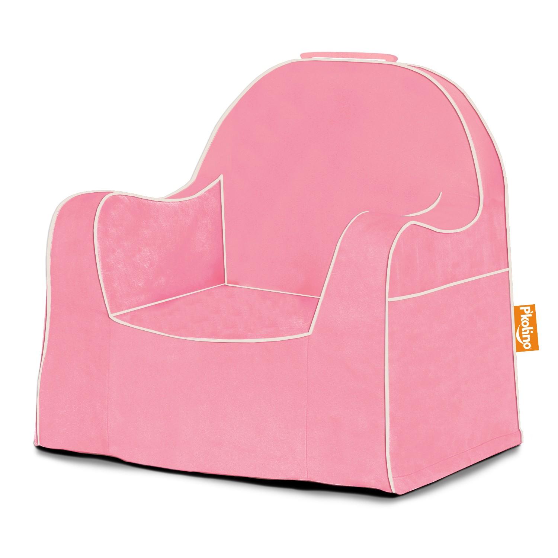 toddler chair - light pink with white piping - pkfflrslpk - pkolino TWTRDSC