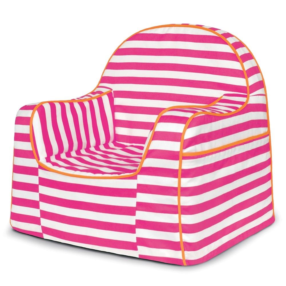 toddler chair - pink stripes - pkfflrrs- pkolino VGBBKIU