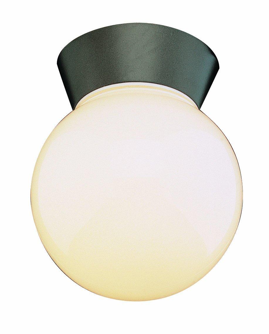 trans globe lighting 4850 bk outdoor pershing 7 CMXTBPT