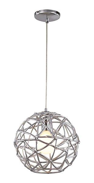trans globe lighting pnd-966 indoor space 12 pendant, polished chrome EEYBROD