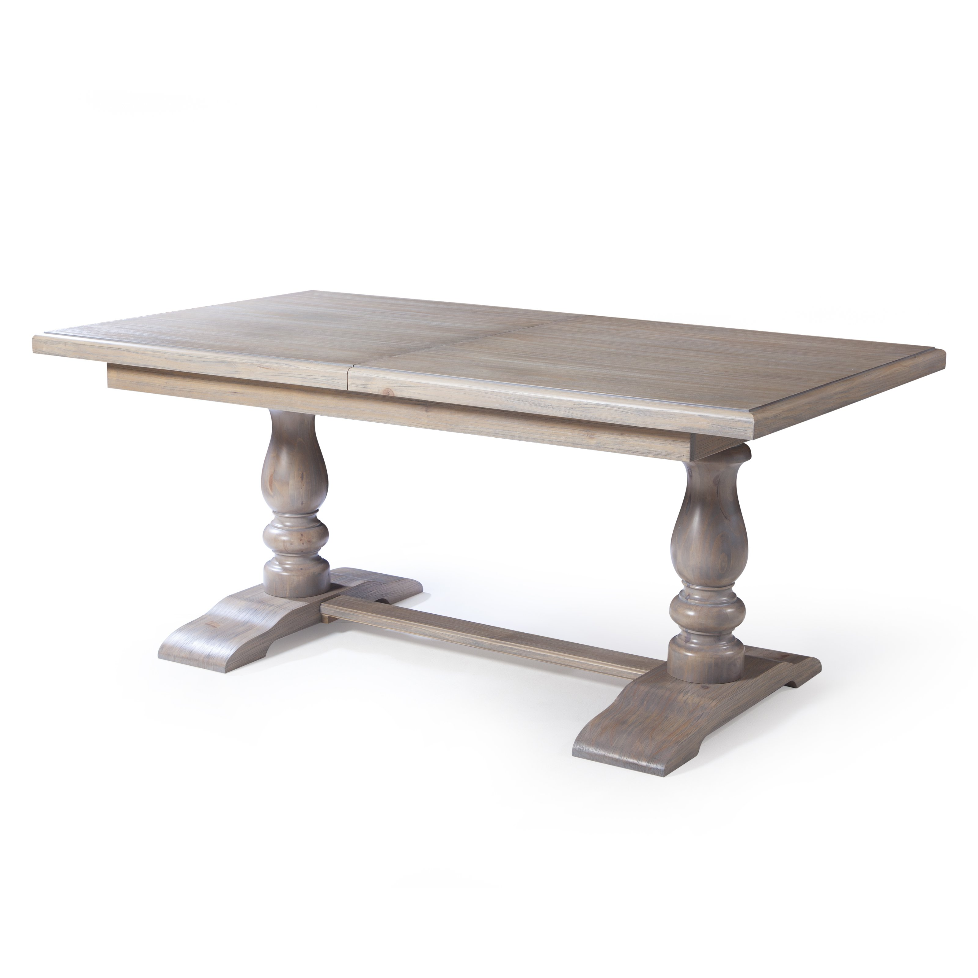trestle table belham living kennedy trestle extension dining table | hayneedle QIJSRMT