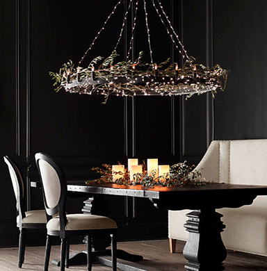 unique lighting string lights on your chandelier QSNCCSP