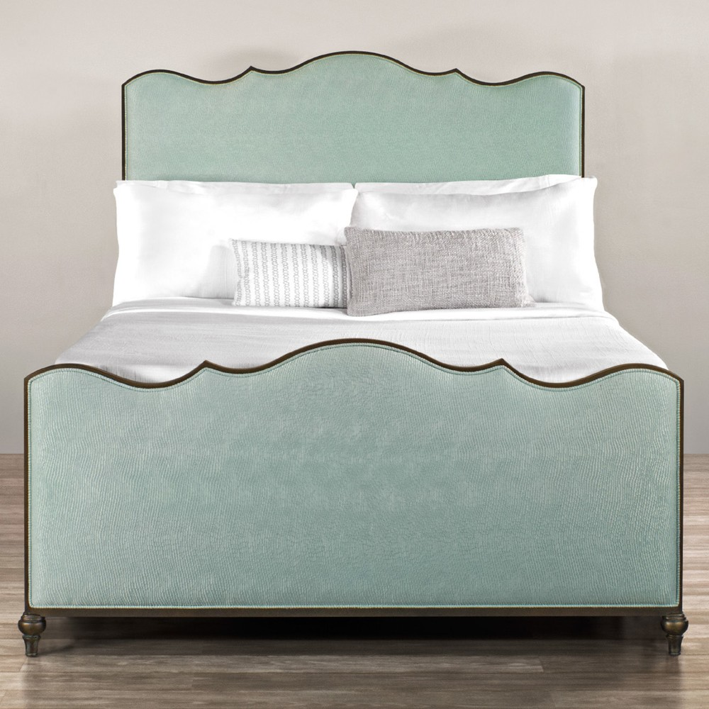 upholstered beds evans iron u0026 upholstered bed by wesley allen ETBNAUK