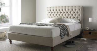 upholstered beds tilly upholstered bed frame ... IKCUWSV