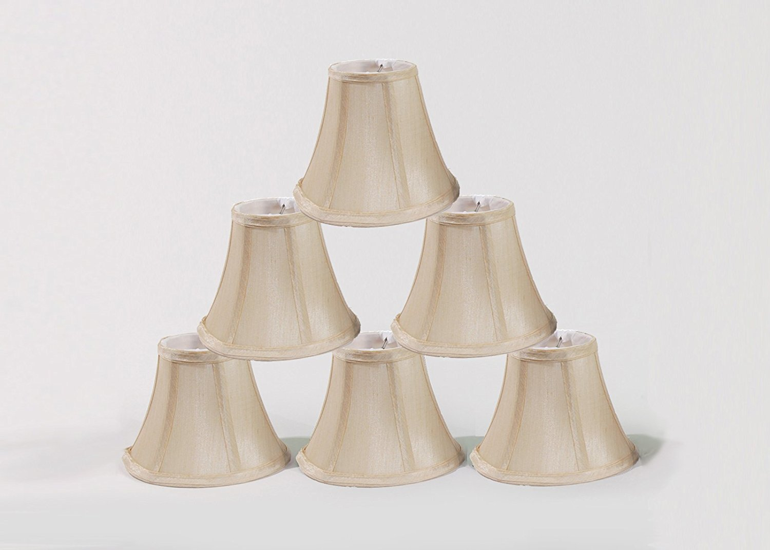 urbanest chandelier lamp shades, set of 6, soft bell 3 DEYSDPY