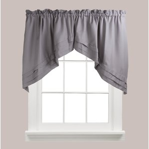 valance curtains gladys swag curtain valance (set of 2) AMEPYJH