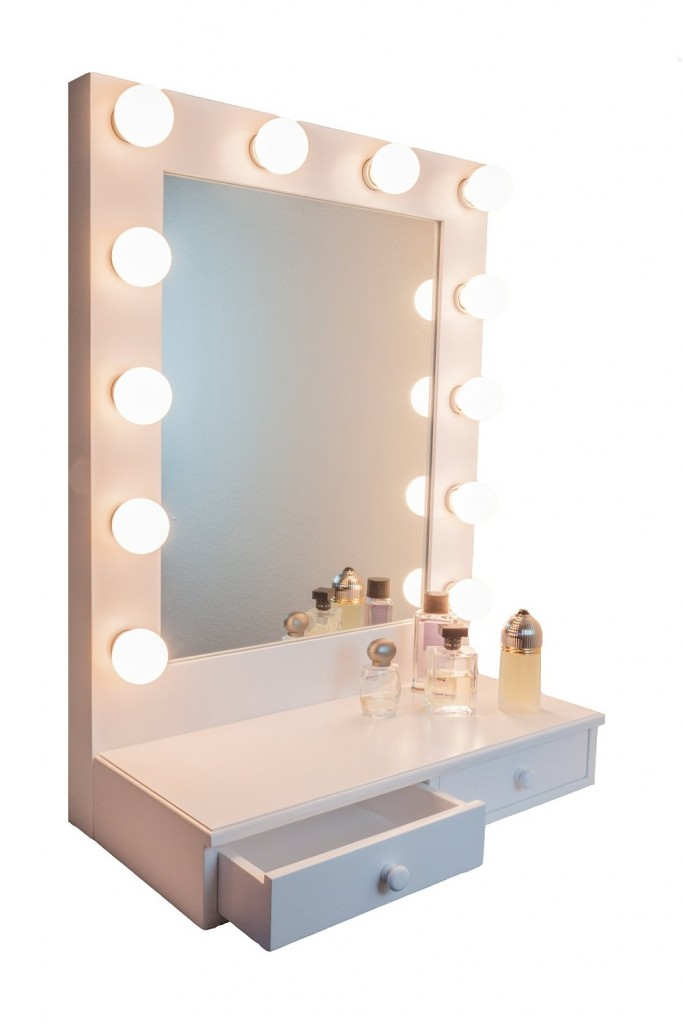 vanity mirrors hollywood d-luxe vanity mirror with drawers by impressions vanity white LNVCRFW