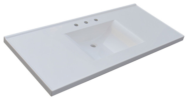 vanity tops sagehill designs - premier wave bowl cultured marble vanity top - vanity SYSGZDE