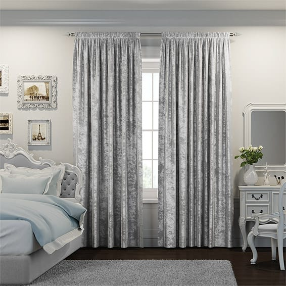velvet curtains crushed velvet platinum curtains YZUCWGZ