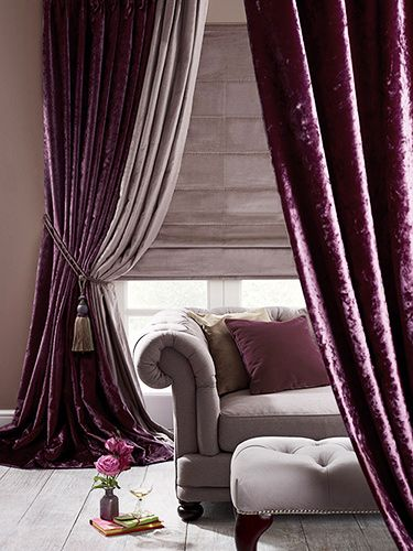 velvet curtains door curtains TRVAQLF