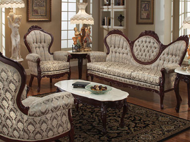 victorian style furniture victorian furniture style sofa and arm chairs ZUMNVYS