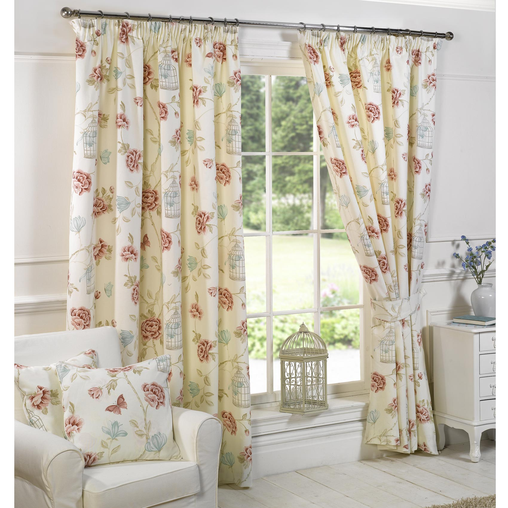 vintage curtains for your exclusive home interior - goodworksfurniture AYGAGIR