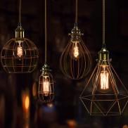 vintage lighting bulb cage light fittings YQLRGVH