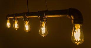 vintage lighting led vintage light bulb - gold tint st18 shape - edison style antique SHCFOLT