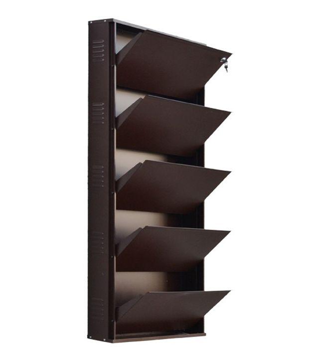 vladiva 5 level extra wide shoe rack ... QTOGUNX