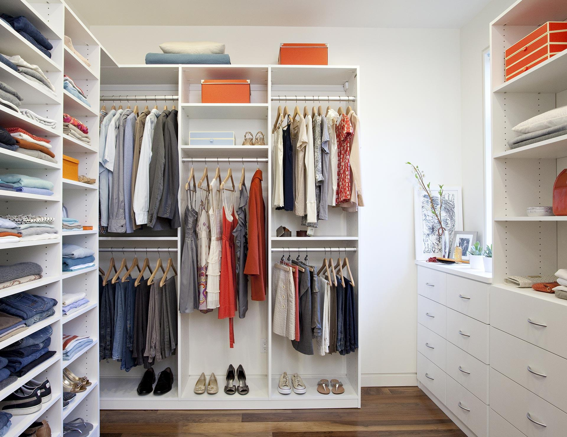 walk in closets california closets - walk-in custom closet RTDCTSN