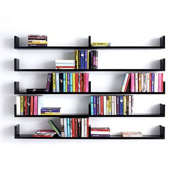 wall bookshelves 26 of the most creative bookshelves designs XOMQQFV