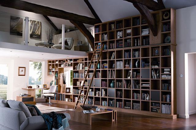 WALL BOOKSHELVES- A HOUSE FOR BOOKS