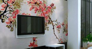 wall decoration ideas mesmerizing tv wall decor ideas 6 BLGHIPI