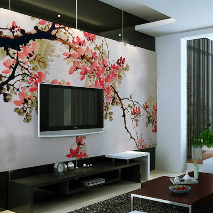 wall decoration ideas mesmerizing tv wall decor ideas 6 BLGHIPI