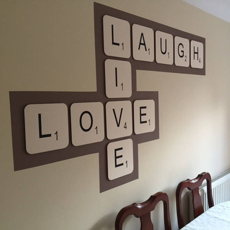 ADDING A TINCH OF BEAUTY TO WALL : WALL LETTERS