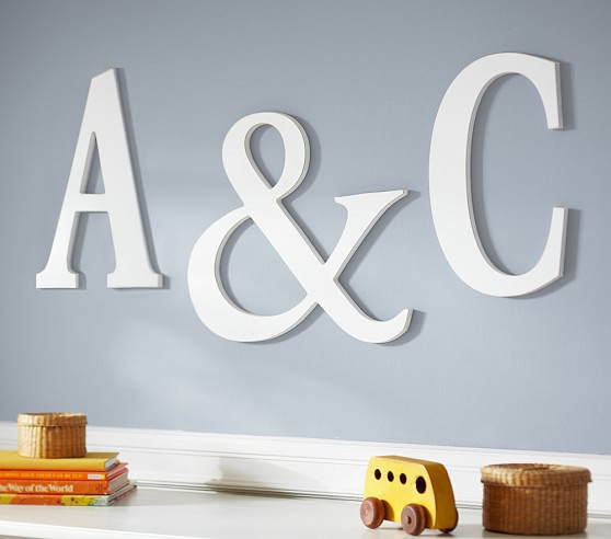 wall letters mini harper painted letter EXLBLGQ