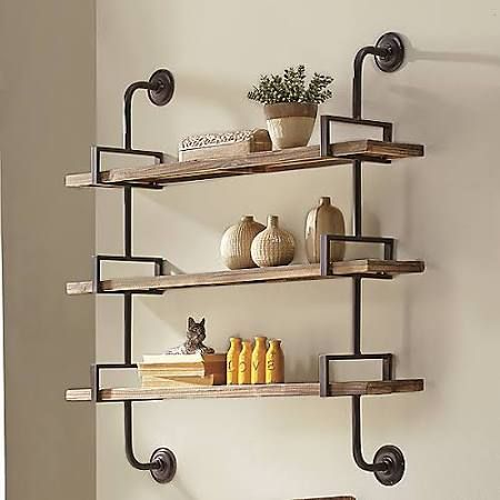 wall shelving wrought iron wall mounted shelves - google search TGMSAHV