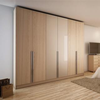 wardrobe closet 6-door wardrobe AZQEXJI