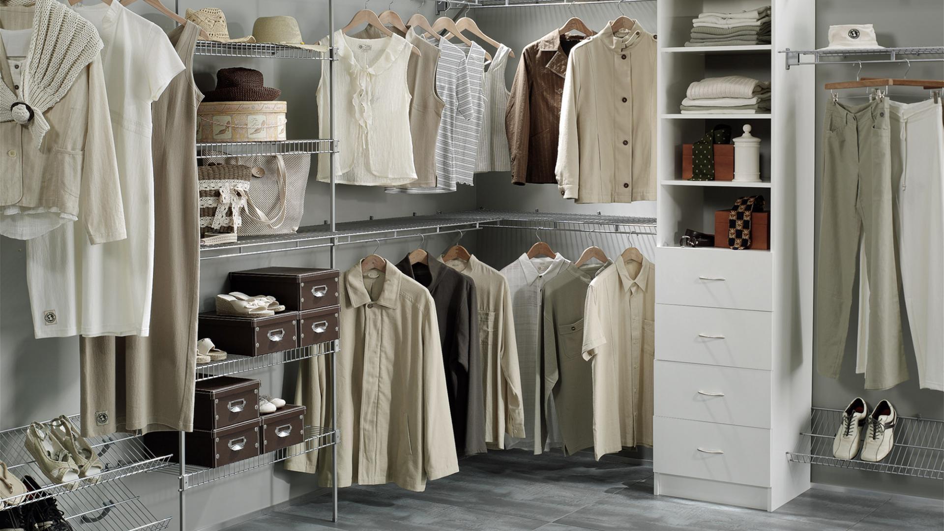 wardrobe systems wardrobe organisers EDPBVCU