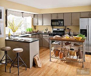 warm kitchen color schemes NISAGTY