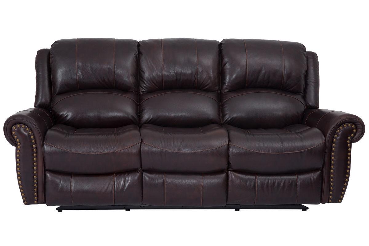 westland leather reclining sofa from gardner-white furniture NSRVUZC