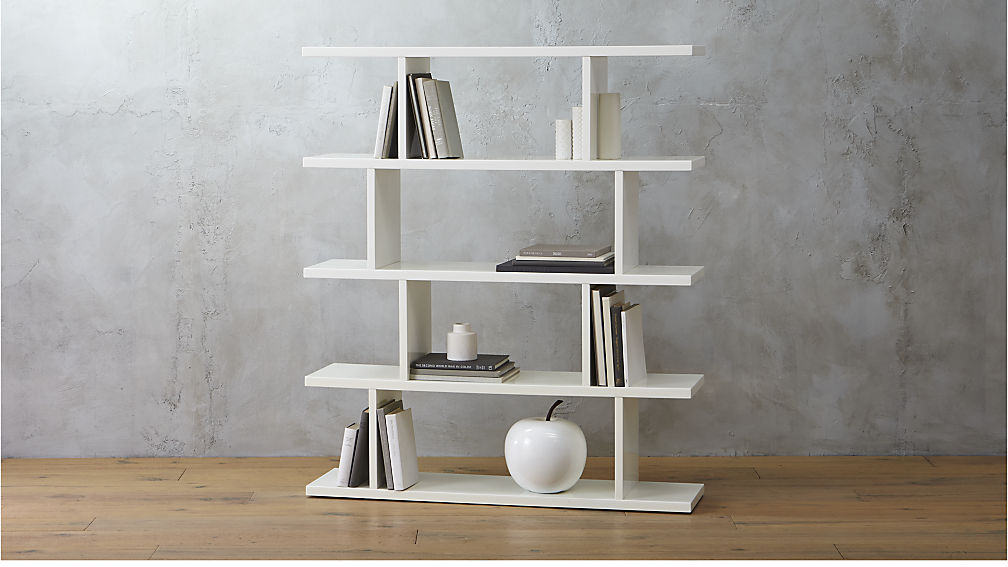 white bookshelves 3.14 white bookcase ... OLDGMQS