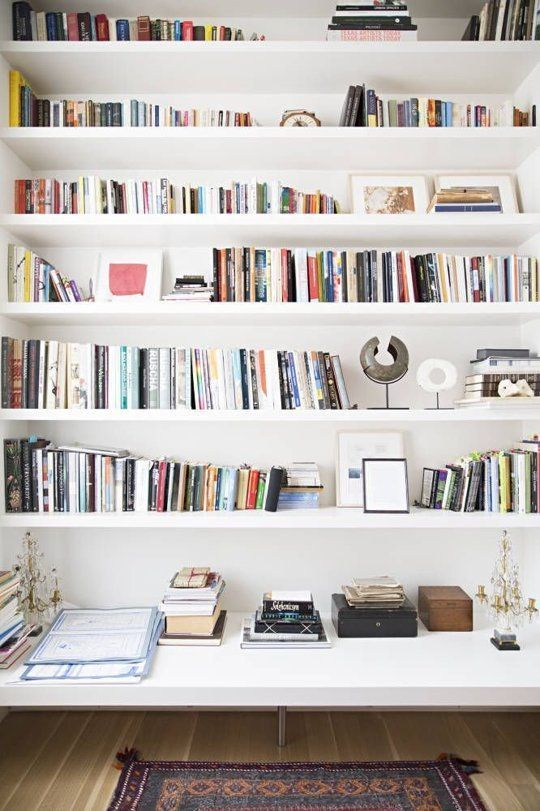 white bookshelves how to style a bookshelf NIMZFKJ