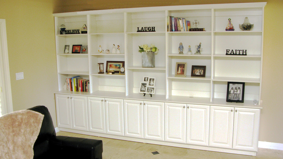 white bookshelves wall units, extraordinary built in bookshelves and cabinets how to build a TOEWNVW