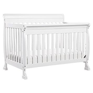white cribs davinci kalani 4-in-1 convertible crib, white XKOEVFT
