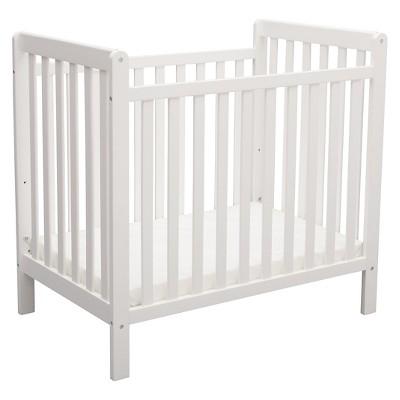 white cribs delta children® mini crib classic BKPNLBD