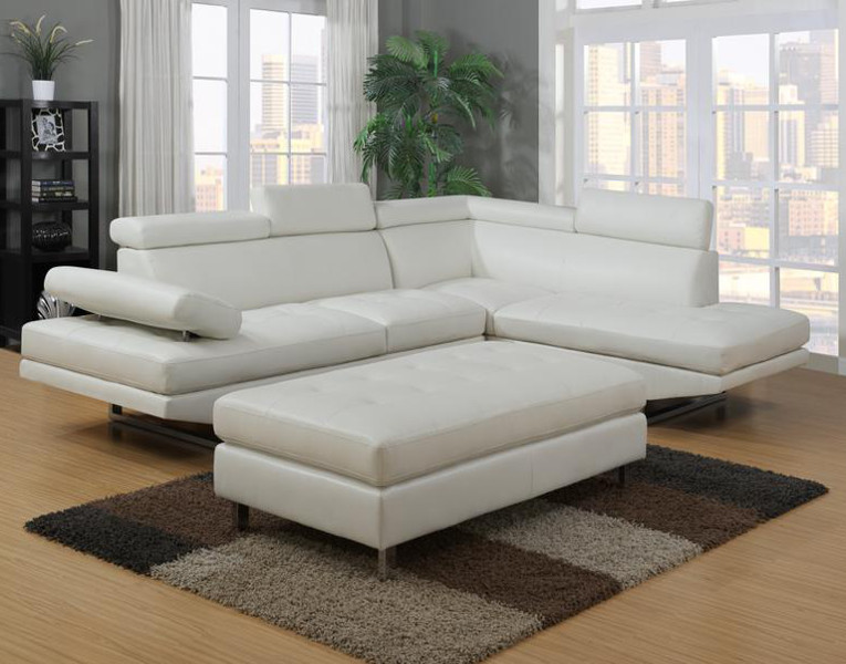 white sectional sofa ibiza sectional ... QVDCUYR