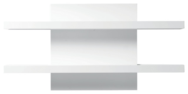 white shelf cargo wall shelf, high-gloss white contemporary-display-and-wall- ALIENEX