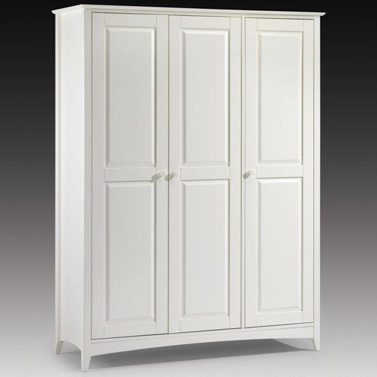white wardrobes amani wardrobe in stone white with 3 doors IGDWZTL